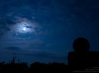 月夜の御在所に登ってきた。(気象レーダー)