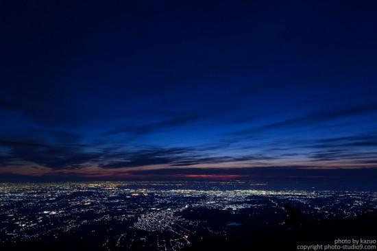 とても暗いところで精細に撮った写真