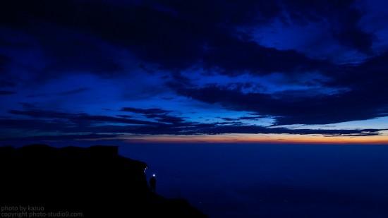 富士山(Blue Hour)