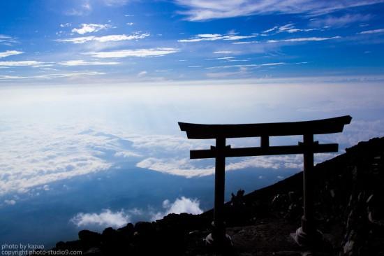 富士山(頂上)