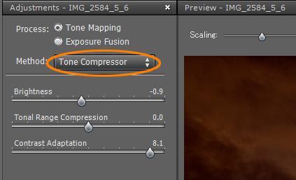 ToneCompressorの場所