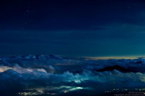 5合目の雲海