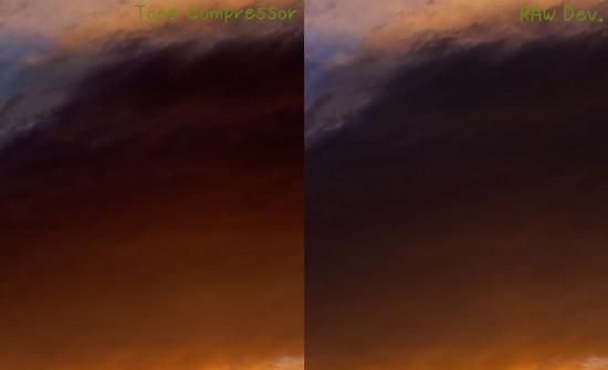 雲のディティールを比較