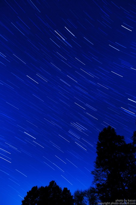 都内からの星の軌跡