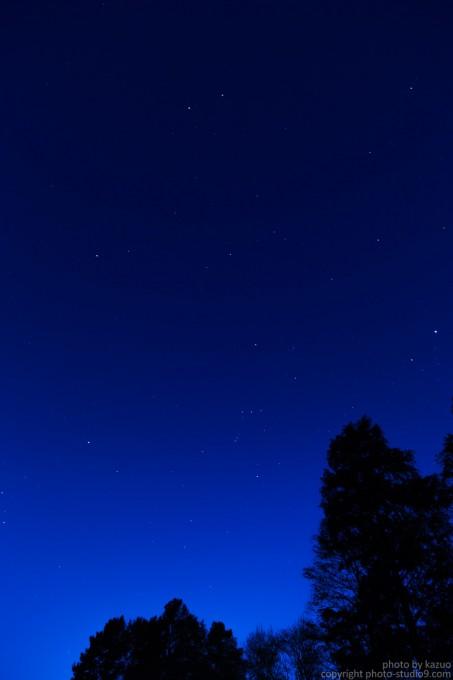 都内の夜空