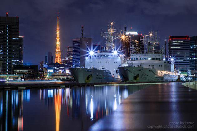 晴海埠頭 東京タワー EF 24-105mmF4L II IS USM