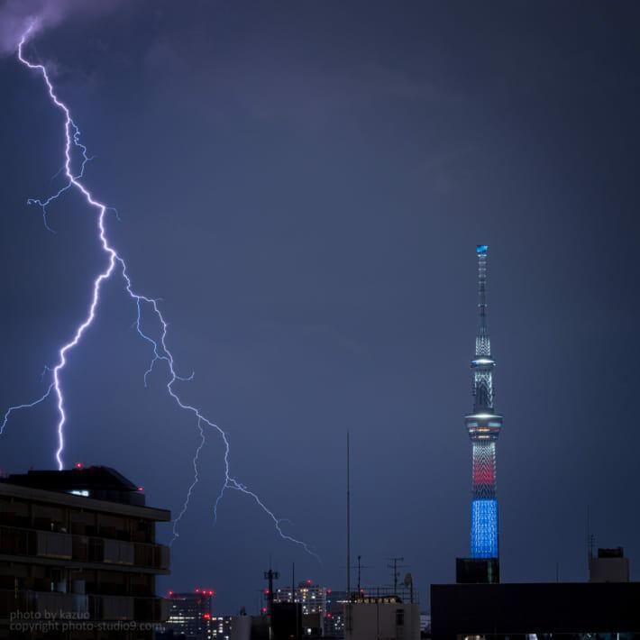雷の撮り方