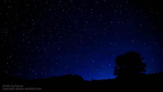 福島の星空
