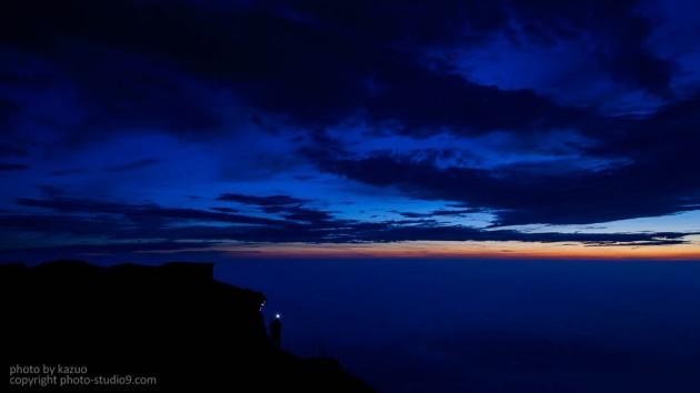 富士山ブルーアワー