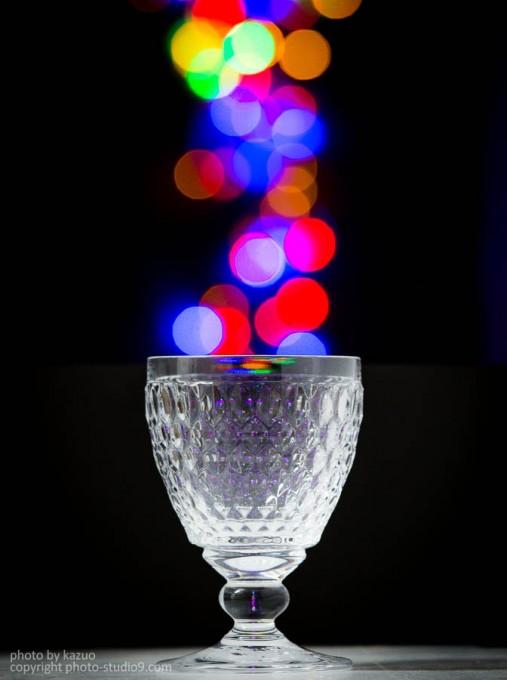 玉ボケグラス