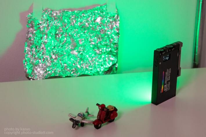 LEDライト 玉ボケ