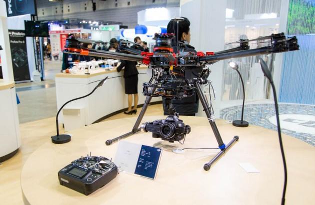 CP+ 2014 カメラヘリコプター