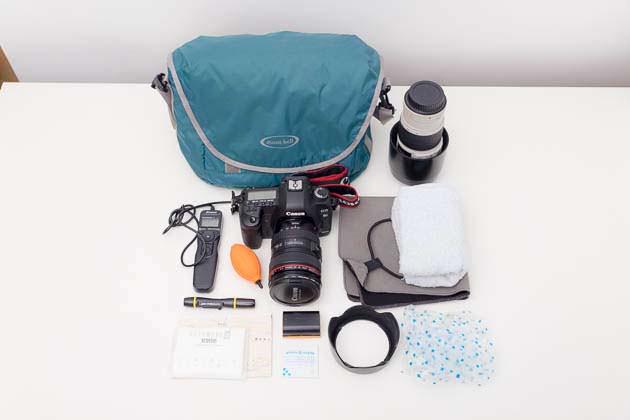 モンベル カメラショルダーバッグ