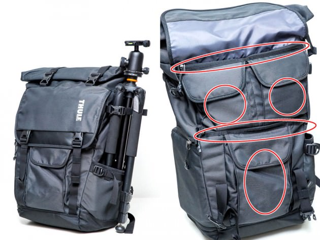 Covert DSLR Backpack