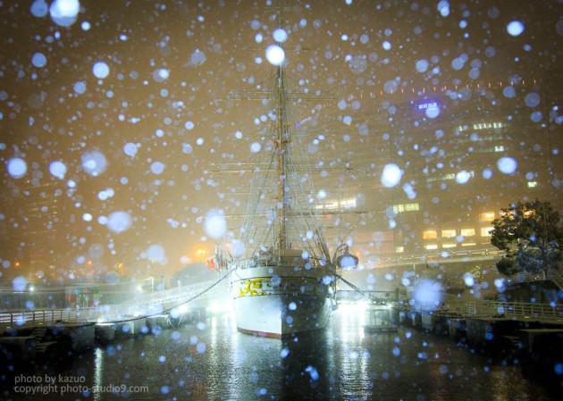 雪の撮り方 夜景