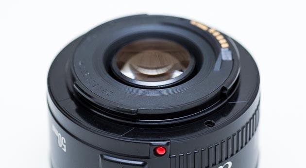 EF 50mmF1.8 II 外観