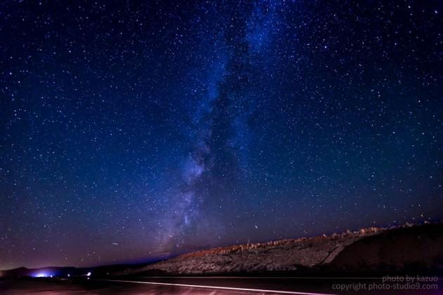 星の撮り方 アリゾナ 天の川