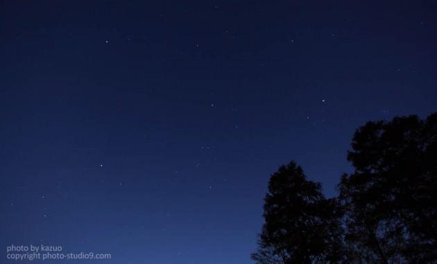 星の撮り方 都内
