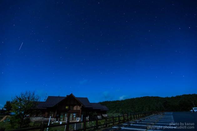 星の撮り方 月が出ている時