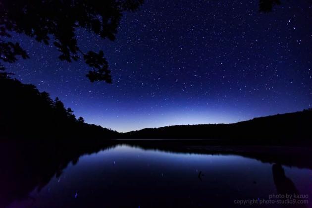 星の撮り方 光害