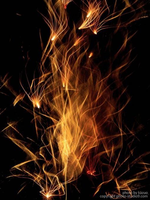 アートな花火の撮り方 作例