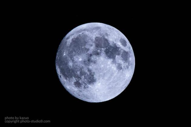 満月 スーパームーン 撮り方