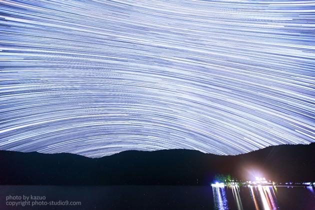 星の軌跡撮影 天の川