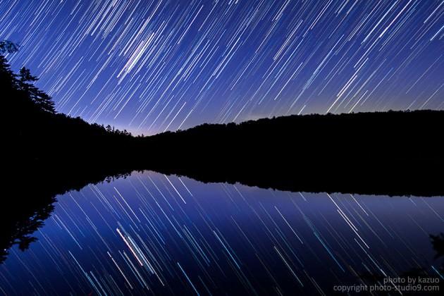 星の軌跡撮影