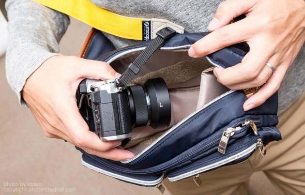 Parcfelme カジュアル3way カメラボディバッグ