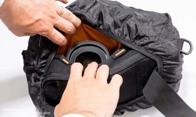 Parcfelme8号帆布の一眼用3Wayカメラバッグ