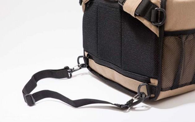 Parcfelme 帆布の一眼用多機能カメラバッグ