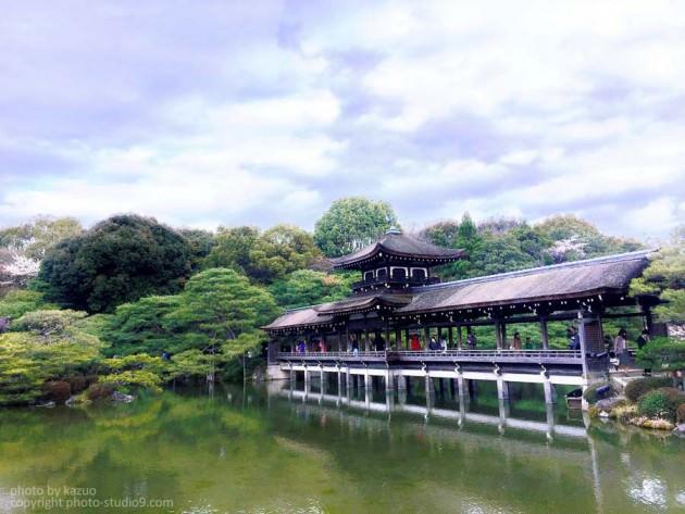 京都 平安神宮 調整後
