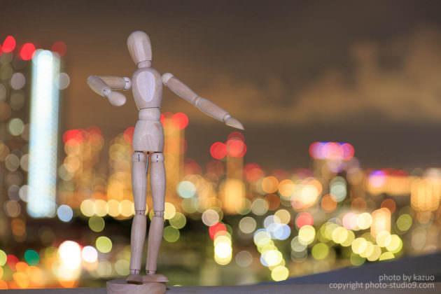 スローシンクロ 夜景ポートレートの撮り方