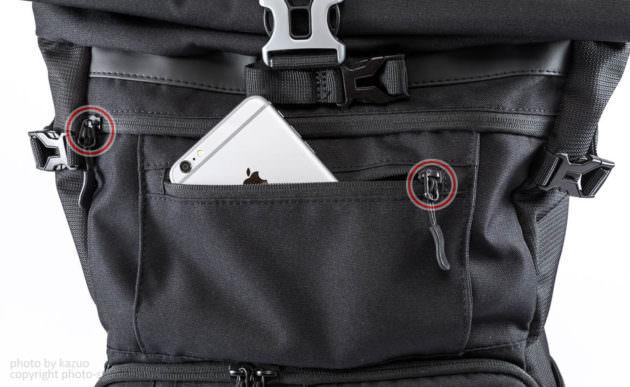 studio9オリジナルカメラバッグ Endurance ポケット