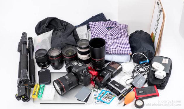 studio9オリジナルカメラバッグ Endurance 最大容量容量