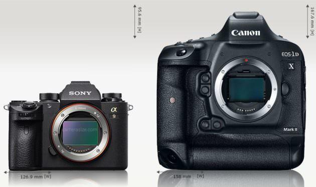 Sony α9 1DX MarkII