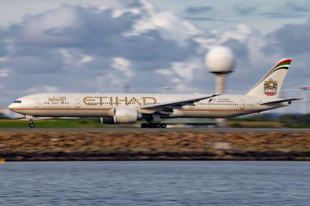 ETD 777-300ER at SYD