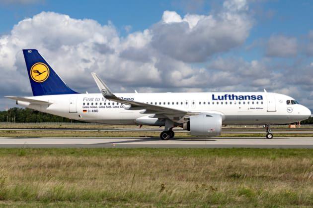 LH A320neo FRA