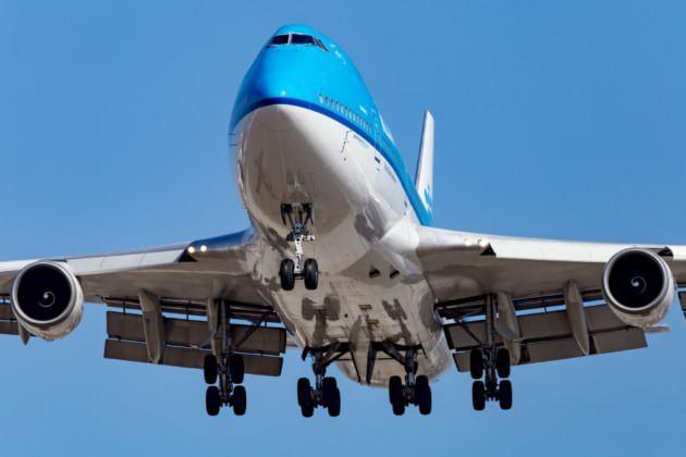 KL 747-400 LAX