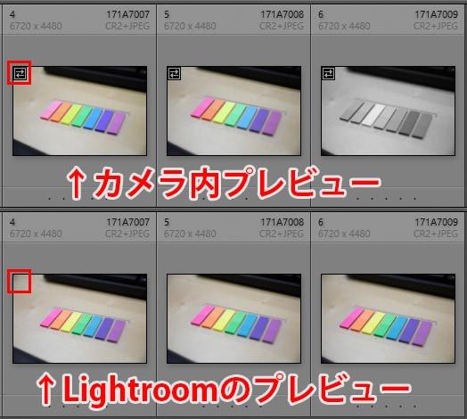 Lightroom Classic CC プレビュー