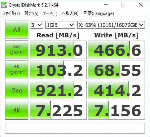 Synology NAS 転送速度 10GbE