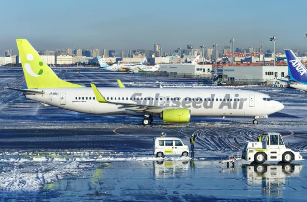羽田空港 冬 撮影