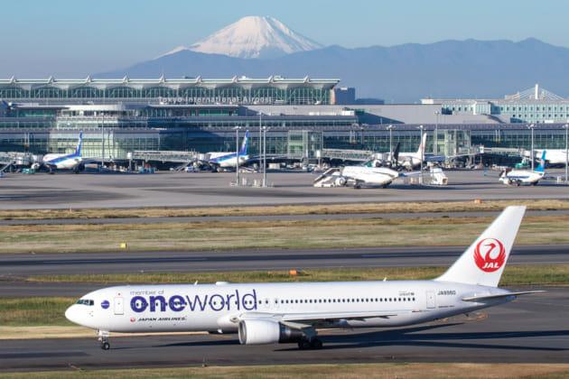 羽田空港 富士山 撮影
