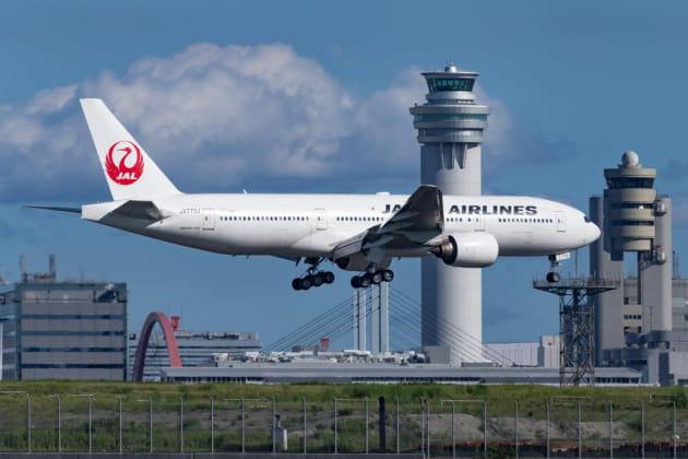 羽田空港 南風 着陸