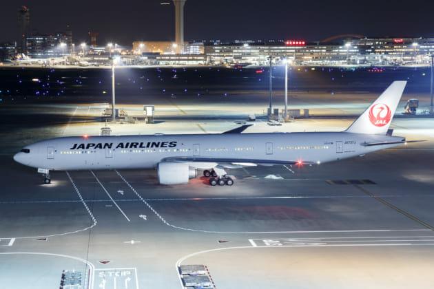 羽田空港 国際線ターミナル 展望デッキ 夜