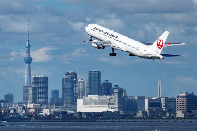 羽田空港 北風 離陸