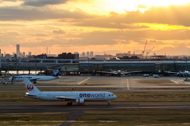 羽田空港 北風 着陸