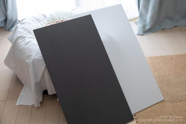 ニューボーンフォトの撮り方 レフ板