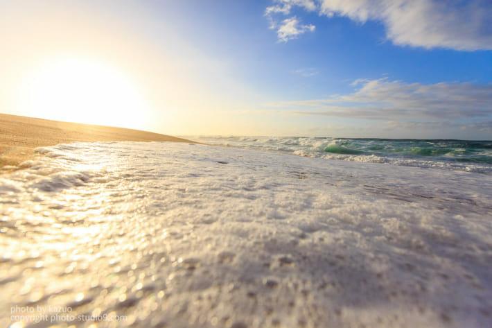 砂浜 ハワイ 保護フィルター