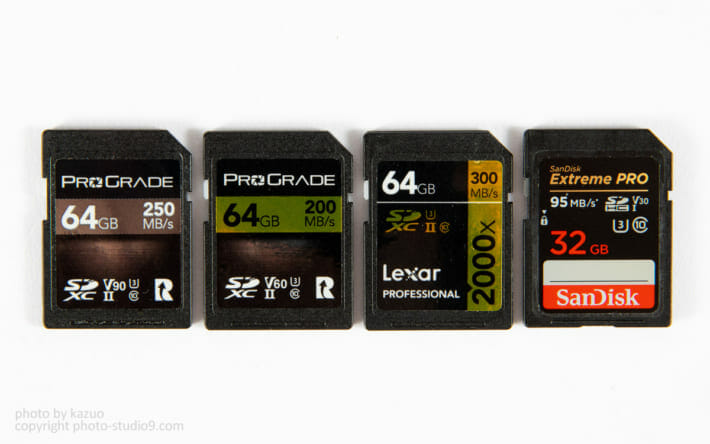 ProGrade Digital SDカード